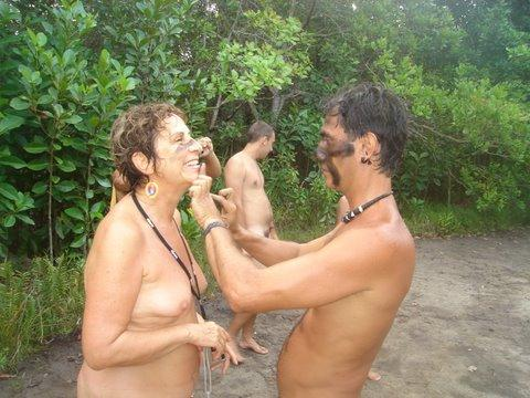 Batismo na aldeia