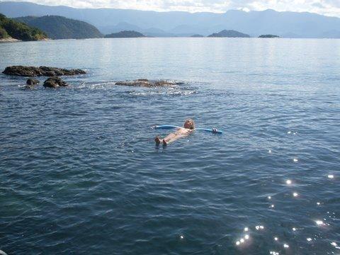 Só eu e o mar