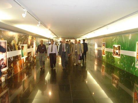 Caminhada nos corredores do senado