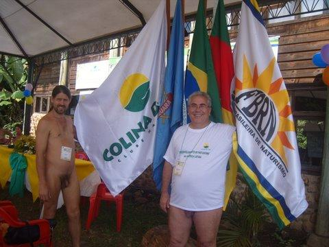 Autoridades do naturismo local e nacional