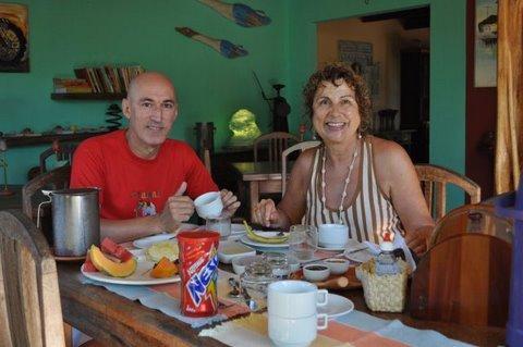 Café da manhã no Alto Da Pipa