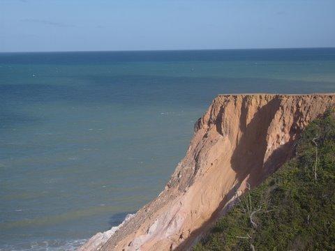 Falésias praia deserta da Arapuca/Conde/Paraíba