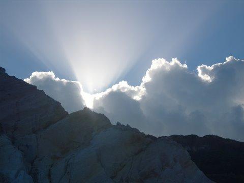O raio de sol na praia da Arapuca/Conde/Paraíba