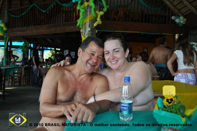 Presidente da Nates/ES. Marcio e Carmelita