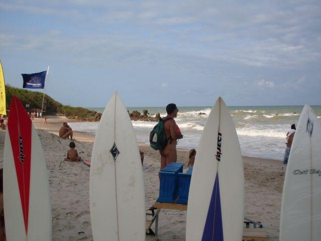 Primeiro Tambaba Open de Surf Naturista