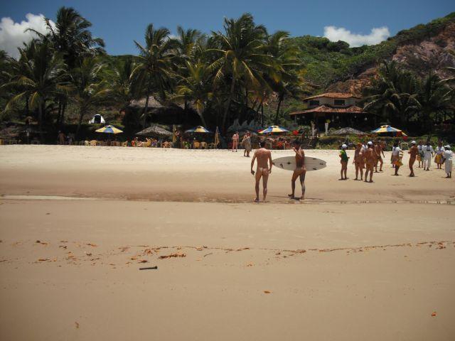 Tambaba pronta para receber os surfistas