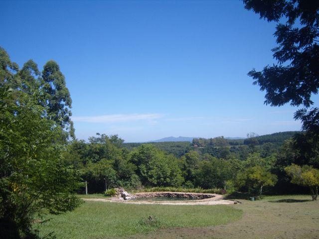 No topo do Morro da Pedra, Colina dos Sol, sul do Brasil
