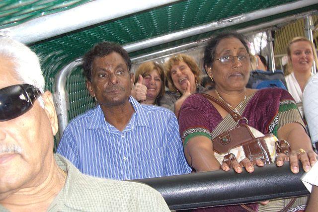 A cara de pavor dos indianos