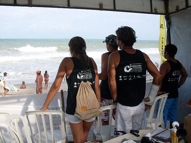 Comissão organizadora do 1º Tambaba Open Surf