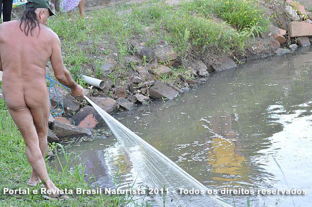 A pesca de rede