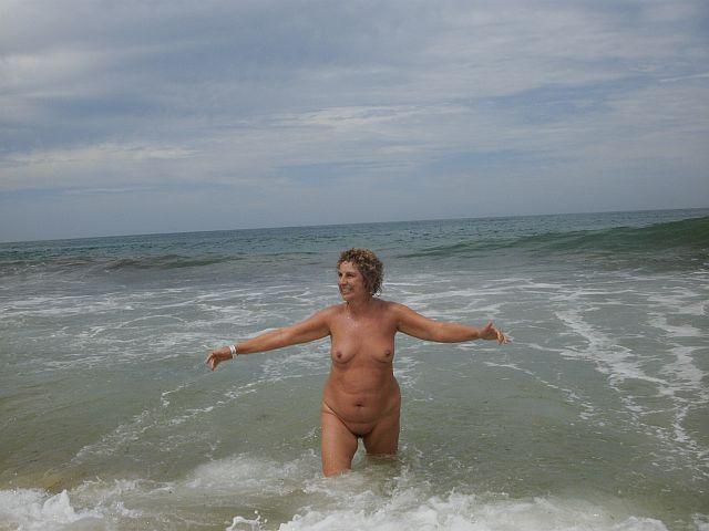Me banhando na imensidão do Atlântico