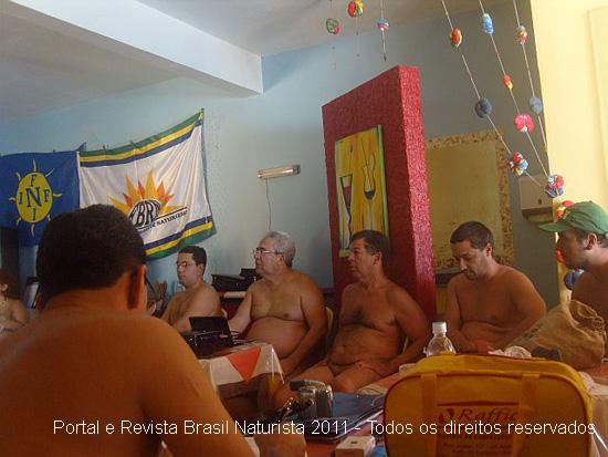 O Encontro de Dirigentes Da FBRN na pousada Lua Nua
