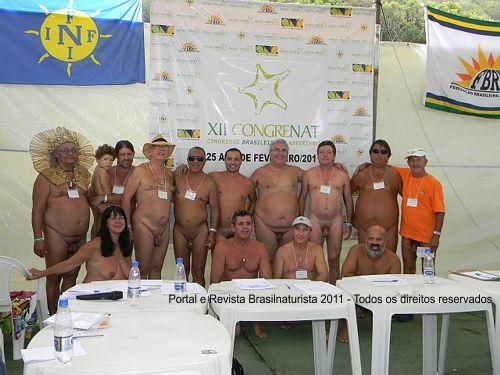 João Olavo Ranses presidente da FrBN na foto oficial com os conselheiros