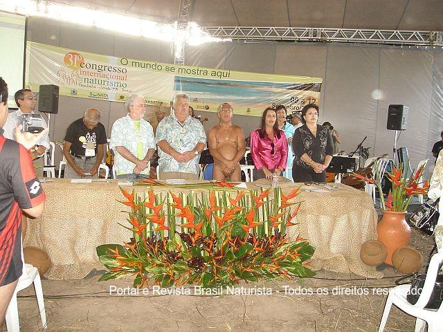 A abertura do congresso internacional foi um sucesso de competência dos dirigentes locais e nacional