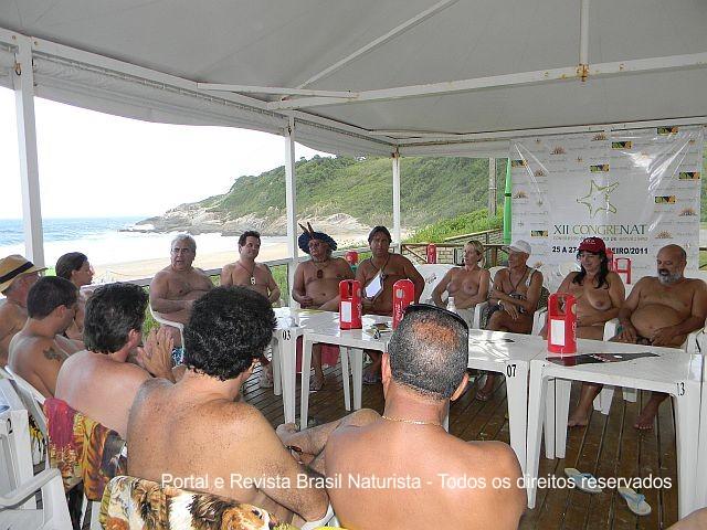 A FBrN se mostrou organizada e participativa com um numero significativo de federadas no congresso.