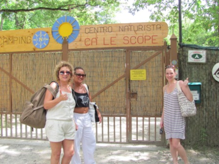 Conhecendo o clube naturista Ca Le Scope na Itália