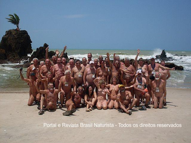 O maior encontro internacional de naturistas em Tambaba/PB