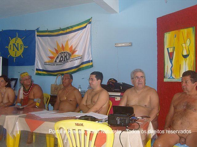 Encontro de Dirigentes Naturistas em Barra Seca/ES