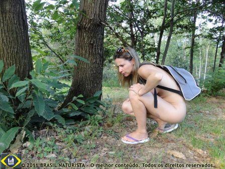 Observadora e atenta na natureza