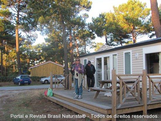 Nossa hospedagem em Montelivet/França