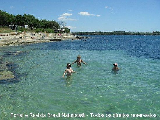 Uma alegria banhar-se nestas águas cristalinas