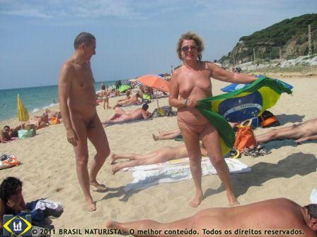 Orgulho de minha nudez e do meu país