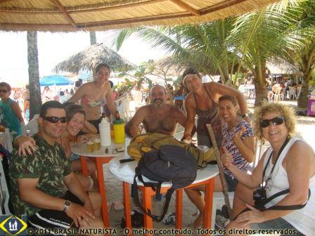 Uma parada na barraca da praia do Coqueirinho/PB