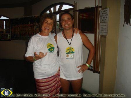 Uma parceria que vem de muitos anos, admiro e respeito o trabalho do Marcelo em prol do desenvolvimento do naturismo