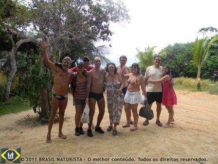 Os aventureiros saindo da Arca de Bilú/Tambaba/PB