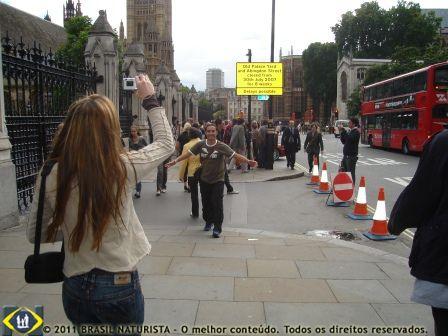 Carina e Marcelo em Londres