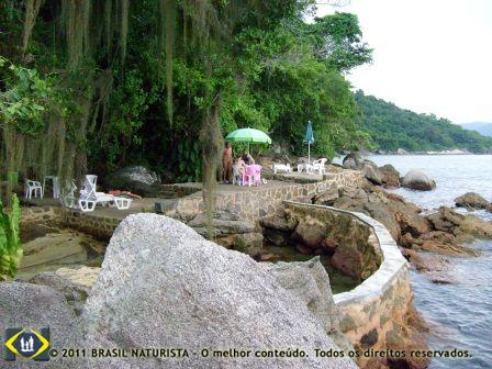 Ilha de Jurubá/RJ santuário ecológico de preservação da flora e fauna