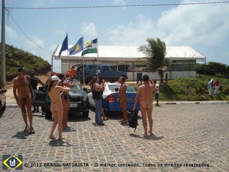 O interesse da mídia pelos encontros naturistas no Brasil