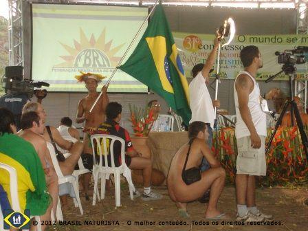 Os Naturista do mundo inteiro se reuniram no Brasil no 31º Encontro da INF