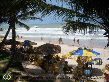 Praia brasileira de Tambaba/PB