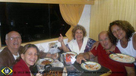"""No jantar o """"sagrado nhoque"""" do dia 29/02 na casa rodante amarela"""
