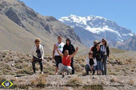 Chegamos ao Aconcágua o pico mais alto das Américas