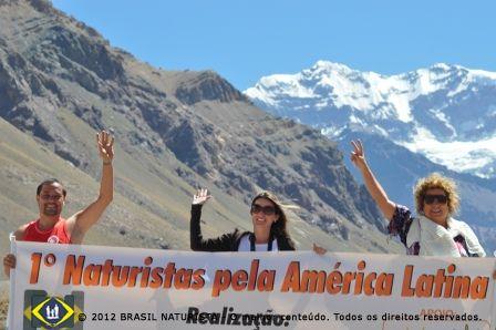 Os naturistas pela América a 2300 metros de altitude