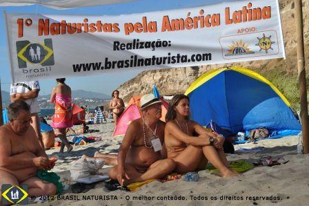 Uma representação significativa de brasileiros no encontro