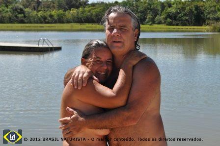 A cumplicidade do casal que vive sua plenitude