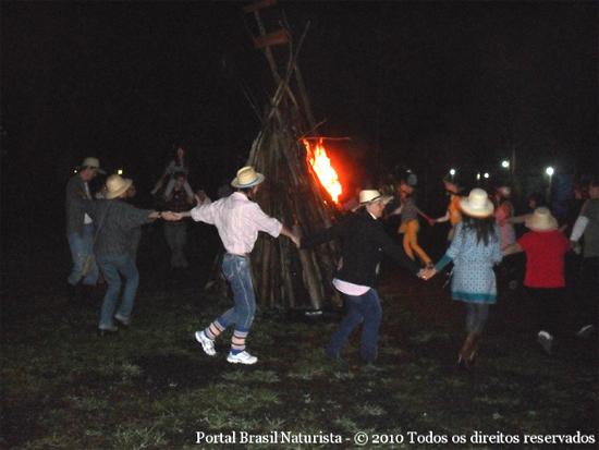 Festa de São João na Colina do Sol/RS