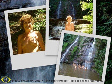 A liberdade ao ar livre no acampamento naturista na Cascatinha/RS