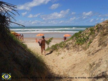 Final de trilha entrando na praia