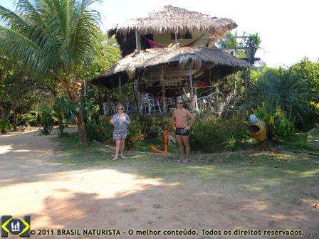 Restaurante e pousada Arca do Bilú em Tambaba/PB