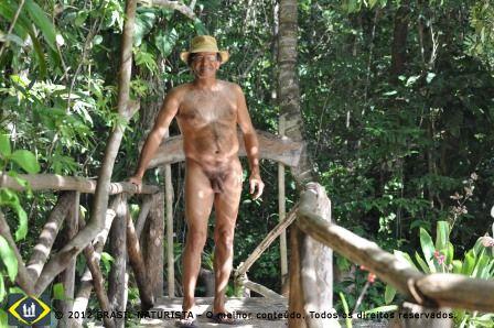 A frente na construção Waldo Andrade apaixonado por educação ambiental