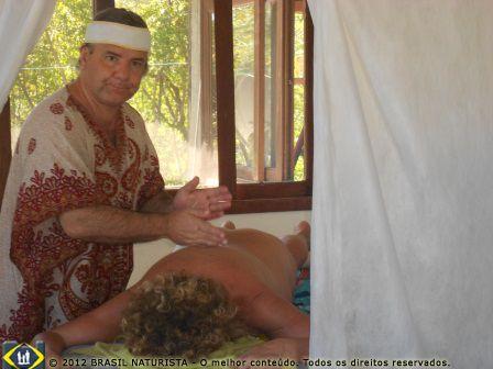 Uma massagem relaxante para começar o ano bem...