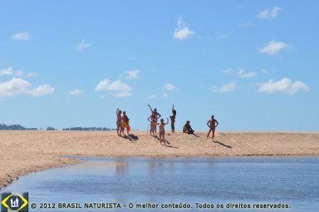 Amplie seus horizontes na praia de Chihuahua/Uruguai