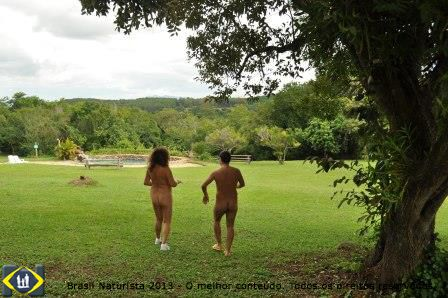 Onde tudo era campo se fez a vila naturista...