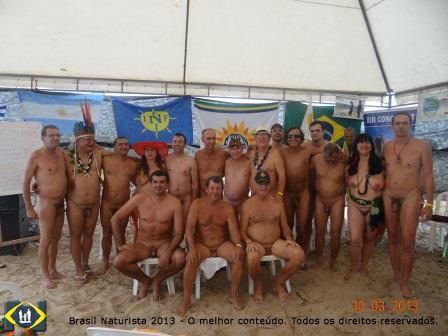 Os eleitos para o mandato2013/2015 para Federação Brasileira de Naturismo
