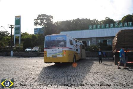 A caravana de Naturistas pelo Brasil na estrada...