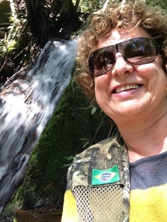 A cachoeira do bosque...